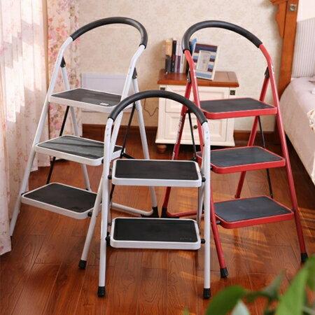 梯子奧鵬兩二三步家用摺疊小梯子梯椅兩用梯凳加厚室內多 人字爬梯【】JY