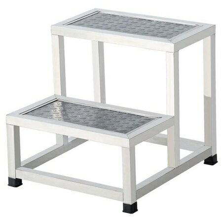 梯子不銹鋼腳踏凳家用室內小樓梯臺階踏步梯子兩二三四步梯臺階凳梯凳【】JY