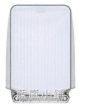 新款PVC半透明磨砂拉桿箱套旅行箱行李箱保護套防水防塵耐磨箱套 藍嵐