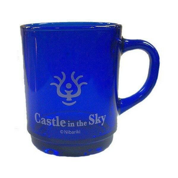 【真愛日本】14080200009 水晶玻璃水杯-天空石藍  守城機器人 LAPUDA 天空之城 擺飾 正品 限量