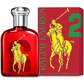 香水1986☆Ralph Lauren Polo BIG PONY #2 魅力男性淡香水 香水空瓶分裝 5ML