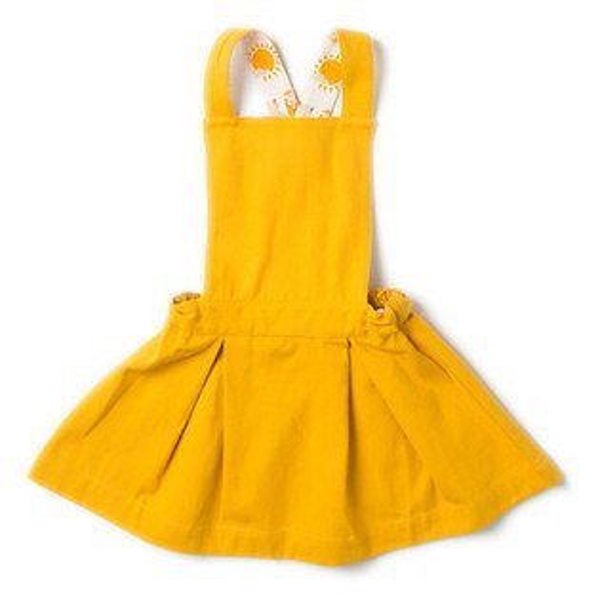 【英國LittleGreenradicals】洋裝-芥茉黃S18046