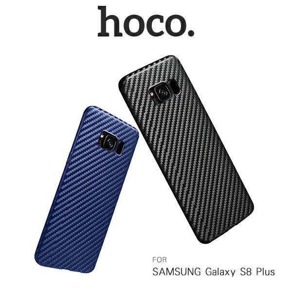 強尼拍賣~hocoSAMSUNGGalaxyS8+S8Plus纖影TPU保護套碳纖維紋手機殼