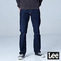 Lee 743中腰舒適直筒牛仔褲/RG-深藍色-男款