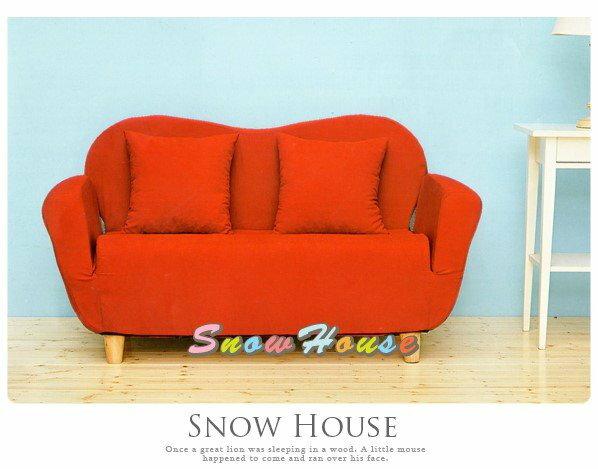 ╭~雪之屋居家 館~╯~AA487~05 和室貴妃沙發床 紅色   沙發  雙人沙發  三