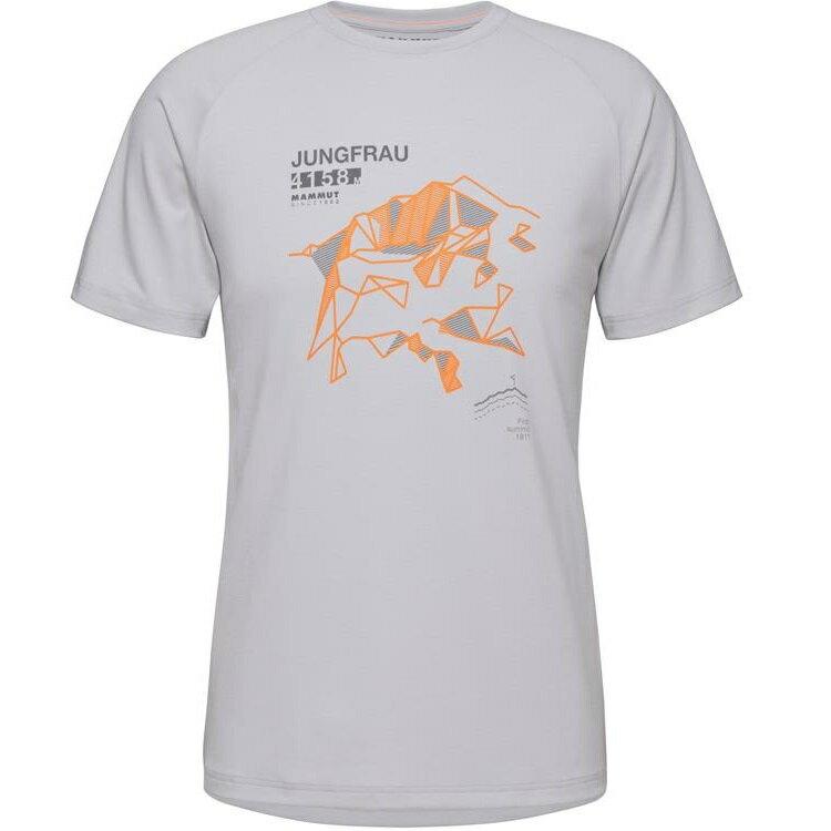 Mammut 長毛象 Mountain T-Shirt 男款圓領短袖T恤 1017-09846 0400 公路灰