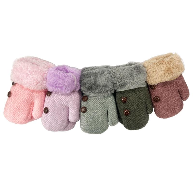 彼得兔/比得兔 全包式兒童毛口雙層手套(顏色隨機出貨)GL144★衛立兒生活館★