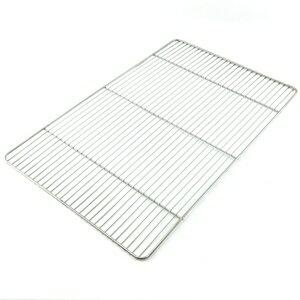 【珍昕】 台灣製 皇家不鏽鋼烤肉網(45x29cm)