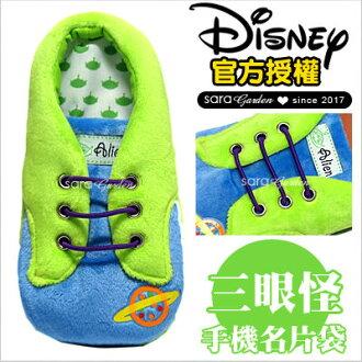 正版迪士尼鞋子手機袋三眼怪小熊維尼泰瑞史迪奇米奇米妮奇奇蒂蒂妙妙貓唐老鴨大眼仔毛怪