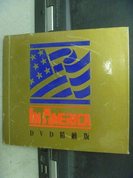【書寶二手書T7/語言學習_JSR】In America_DVD精緻版