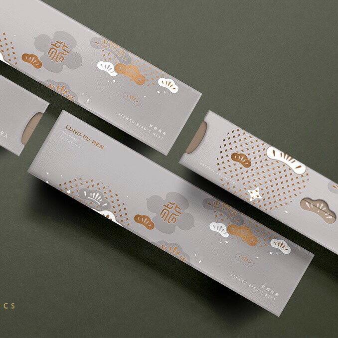 【龍夫人】綜合鮮燉燕窩禮盒 70g 6入