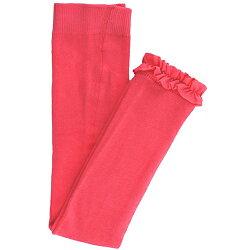 【hella 媽咪寶貝】美國 RuffleButts小公主甜美荷葉邊內搭褲(襪)_糖果粉(RBRT025)