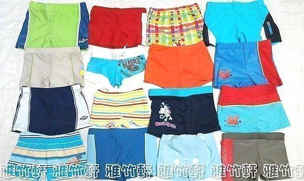 淇淇婦幼館【KZ005】游泳& 泡溫泉 必備 多款 兒童平口泳褲 尺寸 S~XL