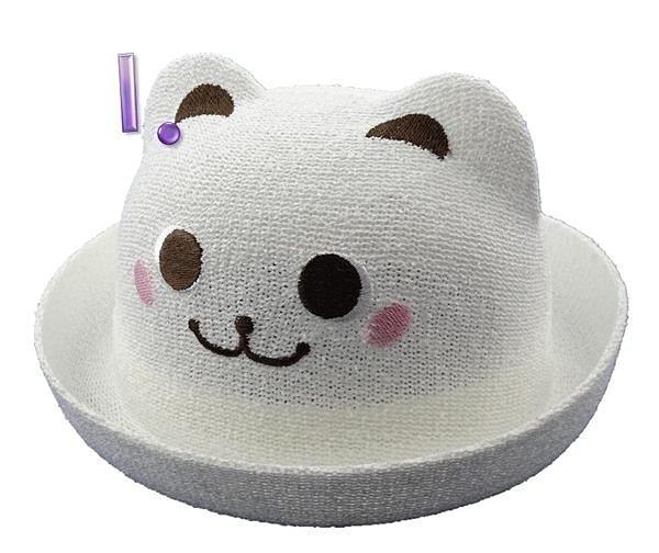 淇淇婦幼館~MZ023~四季 立體卡通 草帽 遮陽帽 寶寶帽  48CM  50CM  5