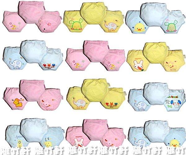 淇淇婦幼館【RD021】日單男,女生三層學習褲,印花,刺繡款都有,80-100CM