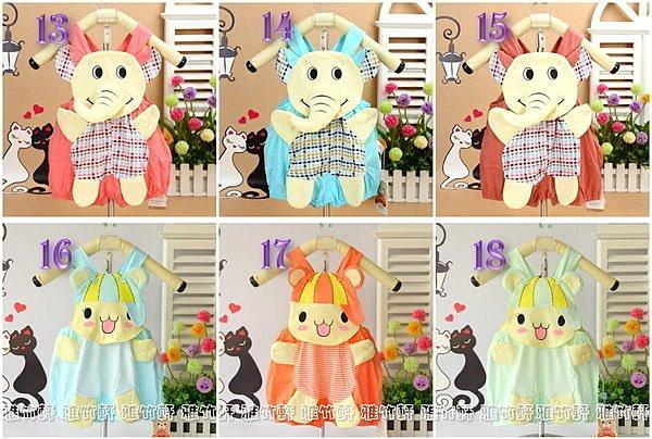 淇淇婦幼館【RD052】多款可愛繽紛立體動物造型連身吊帶褲,80-90cm