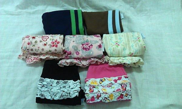 淇淇婦幼館【RD060】可愛男童,女童外出長褲100%棉,尺寸3M-12M