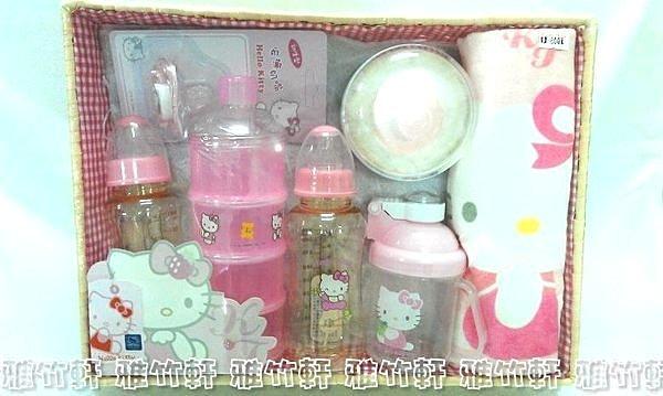 淇淇婦幼館【QQ017】Hello kitty 凱蒂貓 寶寶用品七件組超值彌月禮盒 台灣製造