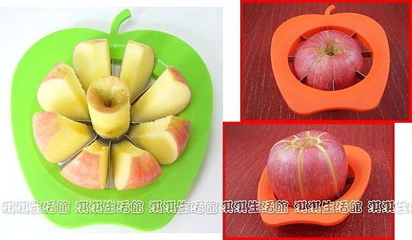 淇淇婦幼館【QQ156】不?鋼切蘋果器 切果器 水果分片器 水果刀 切果器(生活館)