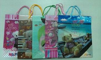 淇淇婦幼館【QQ338】多款可愛玩偶塑膠提袋/造型禮盒提袋,送禮必備小物