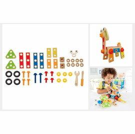 【淘氣寶寶】德國Hape愛傑卡組裝建構系列工匠組(42PCs)