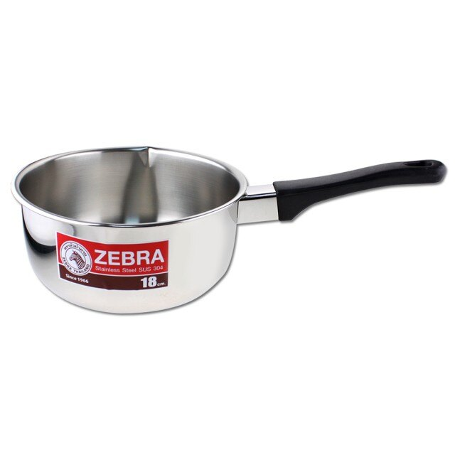 🌟現貨🌟斑馬牌雪平鍋16cm/18cm/20cm 斑馬雪平鍋 牛奶鍋 單把湯鍋
