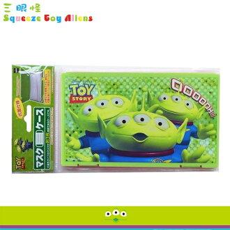 大田倉 日本進口正版 迪士尼 Disney 玩具總動員 三眼怪 口罩盒 口罩 收納盒 抗菌衛生乾淨 233451