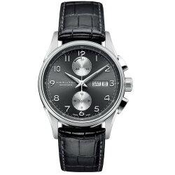 Hamilton 漢米爾頓 JazzMaster 經典時刻機械腕錶 H32576785 銀 黑 41mm