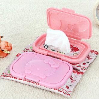 濕紙巾蓋 hello kitty便攜式防塵濕紙巾蓋【包包阿者西】