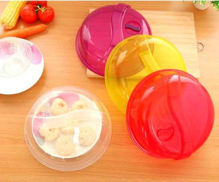 【省錢博士】冰箱保鮮蓋 / 密封蓋 / 食物罩防油蓋圓形 / 透明 39元
