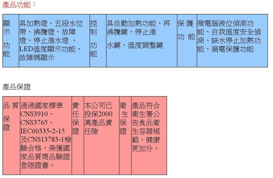 【大墩生活館】豪星牌10加侖電開水機價15800元另有20加侖,30加侖