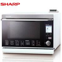 母親節微波爐推薦到SHARP 夏普 AX-WP5T(W)  雙噴射過熱水蒸氣水波爐 31L 日本原裝 (白)就在東隆電器推薦母親節微波爐