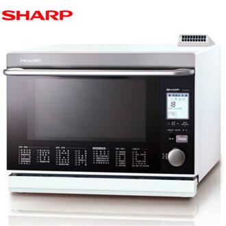 SHARP 夏普 AX-WP5T(W) 雙噴射過熱水蒸氣水波爐 31L 日本原裝 (白)