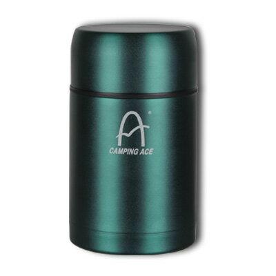 野樂 ARC-1538 不銹鋼高真空悶燒罐 保溫 保冰 旅行 郊遊 保溫瓶 綠色