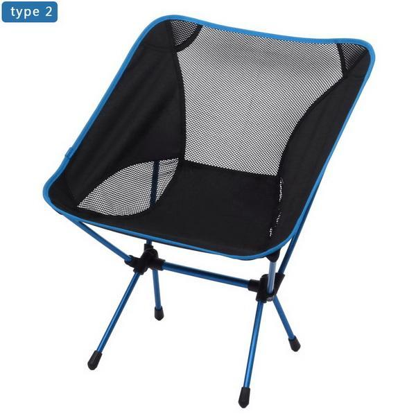 Camp Chair Ground Lightweight and Durable Construction Outdoors Garden 0