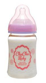 『121婦嬰用品館』啾啾 PPSU寬口粉紅奶瓶160ml - 限時優惠好康折扣