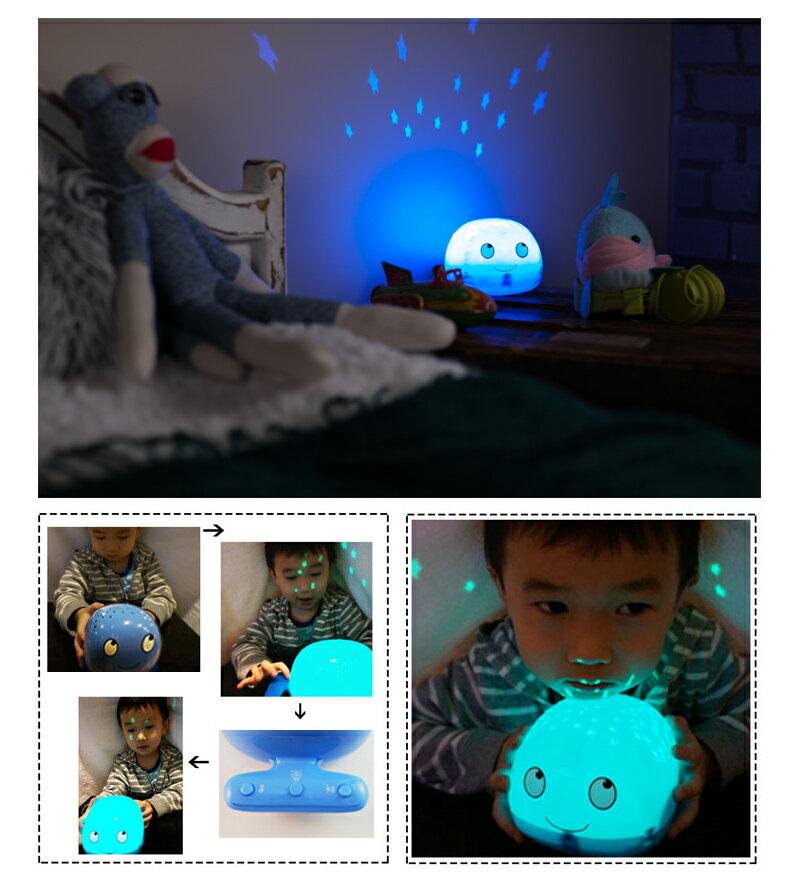 Lumitusi- 滿天星LED音樂鯨魚投影夜燈 1