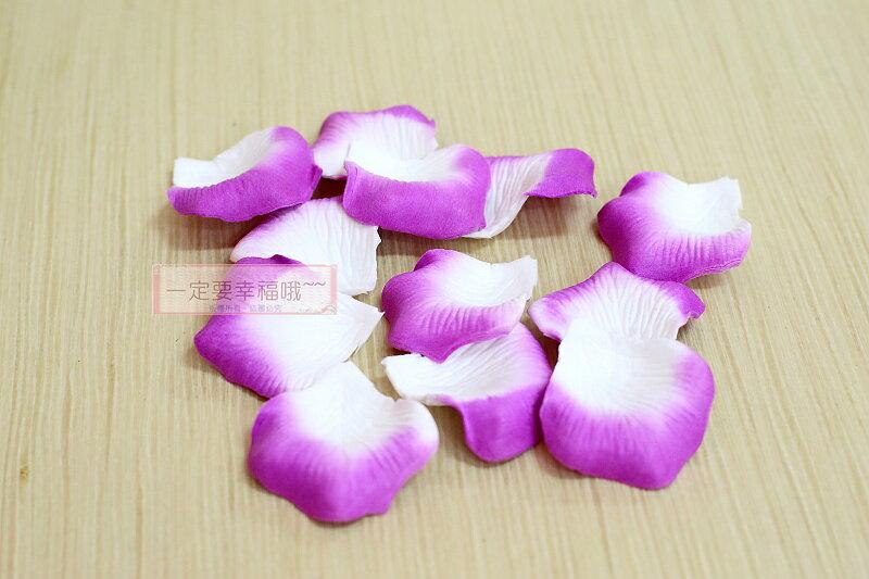 一定要幸福哦~~玫瑰花瓣~紫色~(1包約有100片~)、二次進場,花童籃