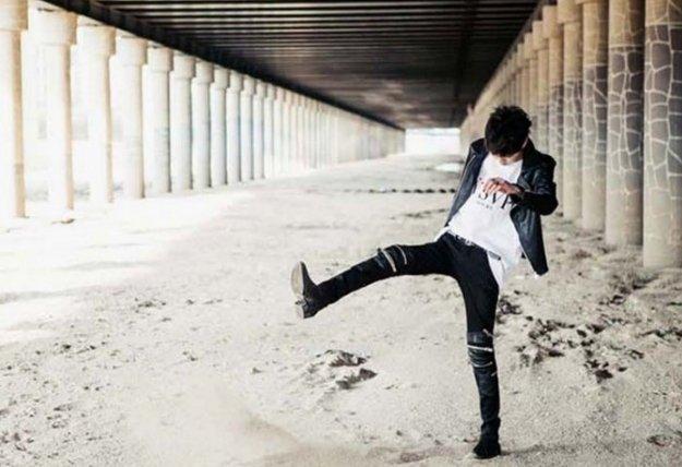 搖滾 韓國 GD牛仔 拉鍊 暗黑 潮流 破褲 大破壞牛仔 SLP GD破壞 設計牛仔 訂製大尺碼