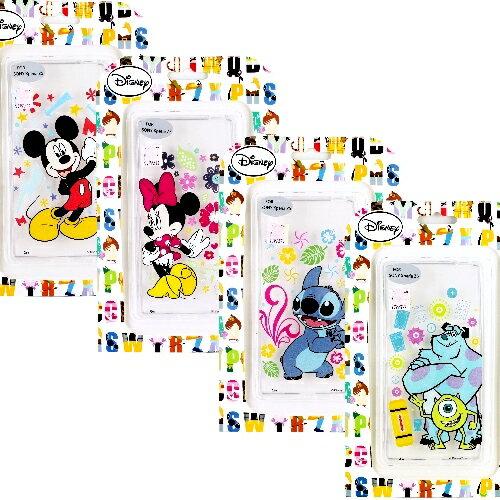 ~Disney~Sony Xperia Z5 E6653 5.2吋 花朵系列 彩繪透明保護