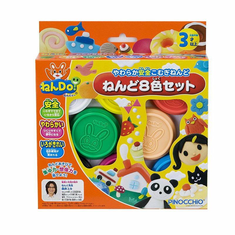 Pinocchio - 黏DO - 8色補充組 (黏土大王)
