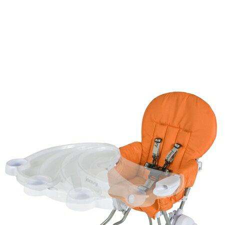 ★衛立兒生活館★美國Joovy 摺疊高腳椅-橘色