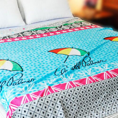 【滿版星星】雨傘牌 法蘭絨舒眠保暖毛毯 ◆ HOUXURY台灣製