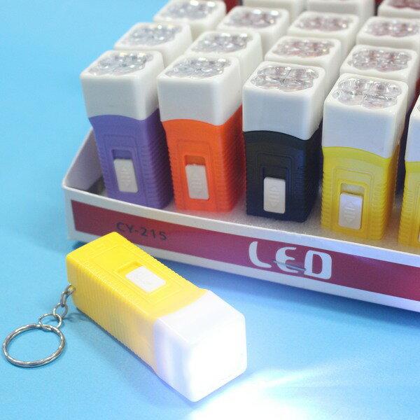 LED手電筒 A1LE003 LED迷你手電筒 4燈方形 C118(內附電池)/一盒24支入{促20}