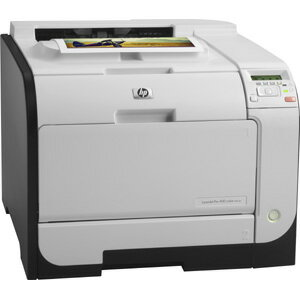 HP LaserJet Pro M451DN Laser Printer - Color - 600 x 600 dpi Print - Plain Paper Print - Desktop - 20 ppm Mono / 20 ppm Color Print - A4, A5, A6, B5 (JIS), Postcard, Double Postcard, DL Envelope, C5 Envelope, B5 Envelope, Legal - 300 sheets Standard Input 3