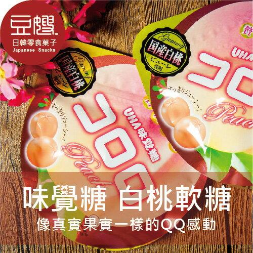 【豆嫂】日本零食 UHA味覺糖 Kororo水蜜桃軟糖(國產白桃)