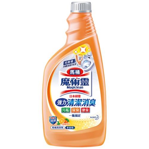 來易購:魔術靈高密泡馬桶清潔劑補充瓶500ml
