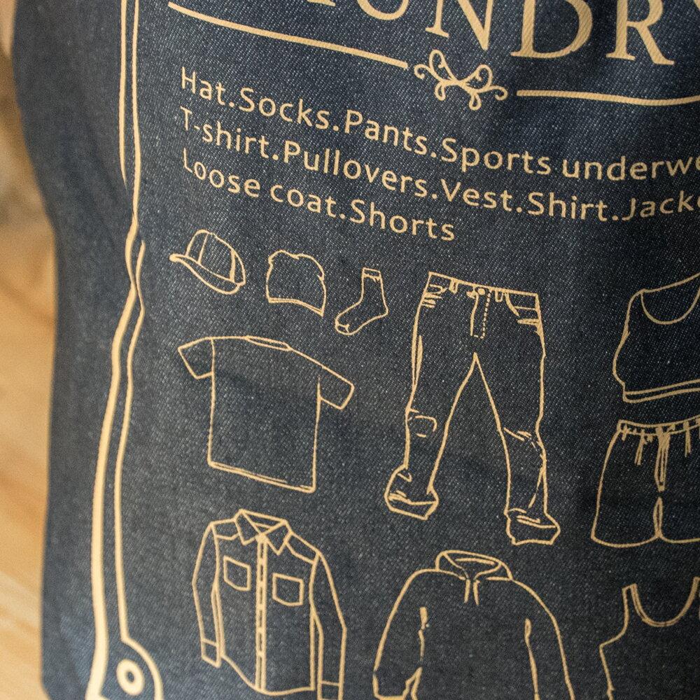 大型衣物收納 直徑40cm高50cm 可收納衣物 4