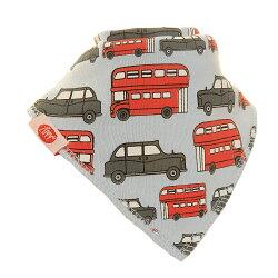 英國ZIPPY 幼兒時尚口水巾單入 (巴士車)