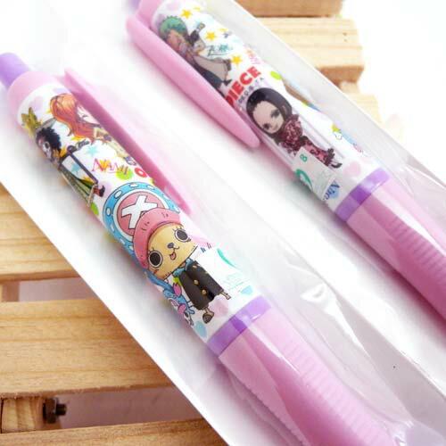【真愛日本】15061700013 胖胖自動鉛筆2入-喬巴 海賊王 航海王 喬巴 魯夫 文具 自動筆 正品 限量